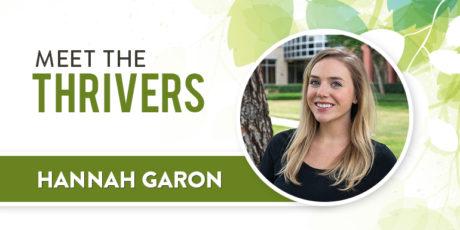 Meet the Thrivers: Hannah Garon