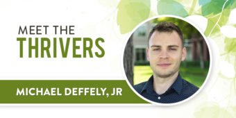 Meet The Thrivers: Michael Deffely