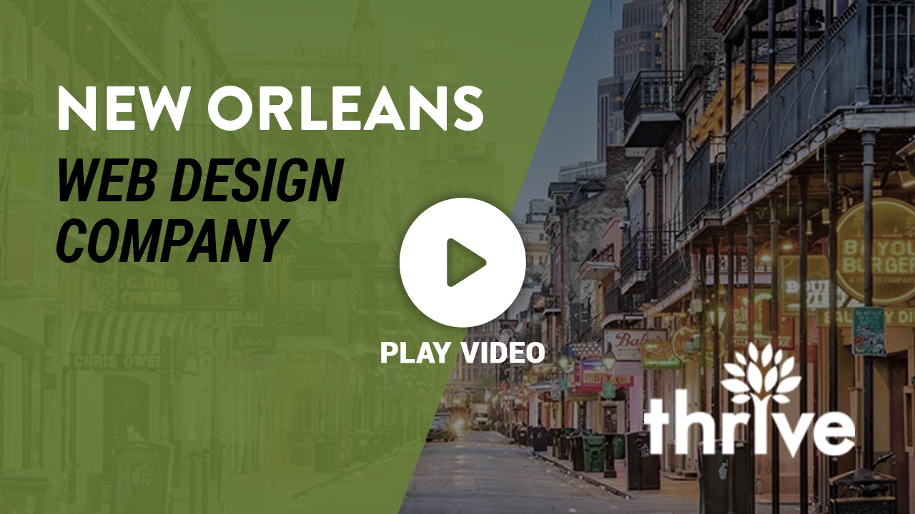 Web Design Company in New Orleans