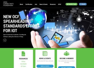 Open Connectivity Foundation Website Design