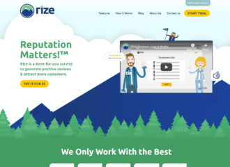 Online Reputation Management Monitoring Rize Reviews