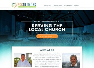 The PCC Network Website Design