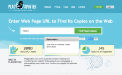 PlagSpotter - Plagiarism checking tool