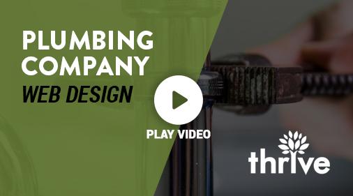 Plumbing Company Web Design