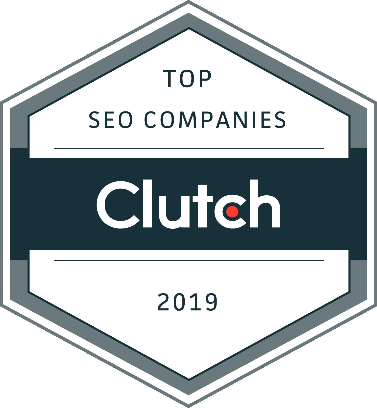 Top SEO Companies Award 2019