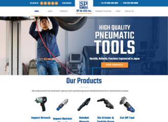 web design manufacturing company