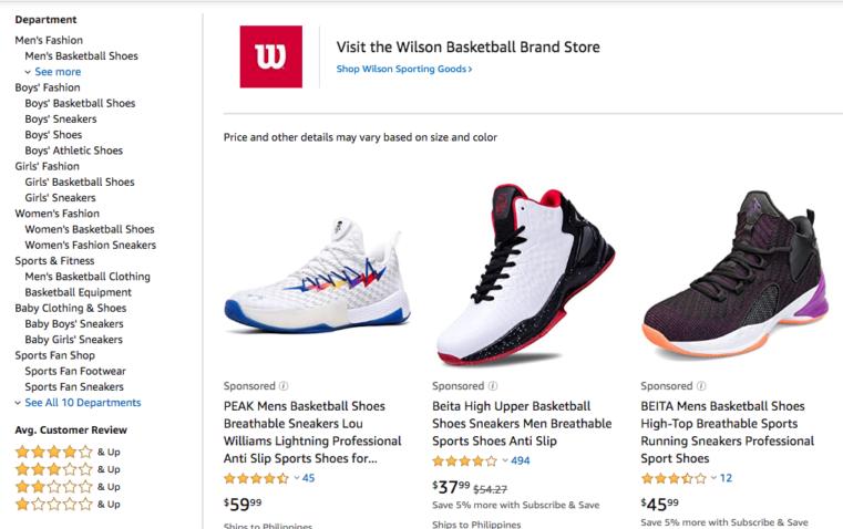 Sample Amazon Product