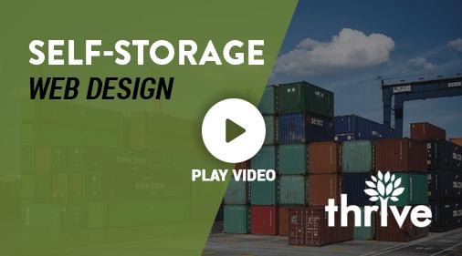Self Storage Company Web Design