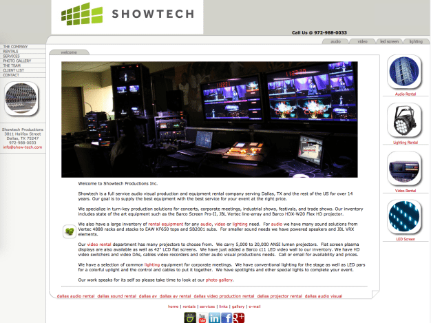 Showtech Old