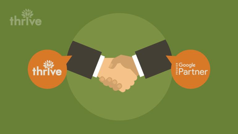 Thrive Agency Named Google AdWords™️ Premier Partner