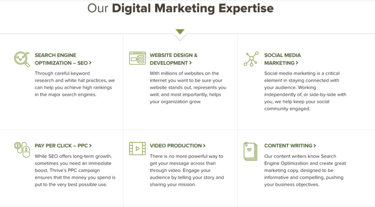 Thrive Digital Marketing Services