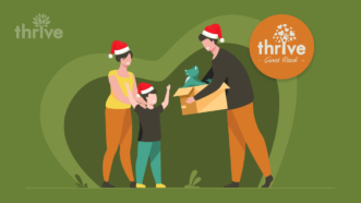 Thrive Gives Back to Corey Elementary 'It makes my heart dance! This is the best Christmas'