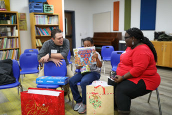 Thrive Gives Back to Corey Elementary: 'It makes my heart dance! This is the best Christmas'