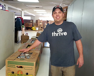 Thrive Gives back 4