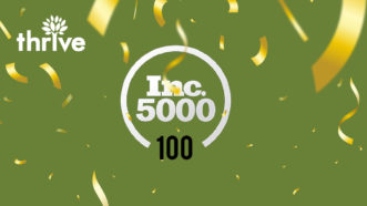 Thrive Named to Inc. 5000 Series List of Fastest-Growing Companies in Texas in 2020