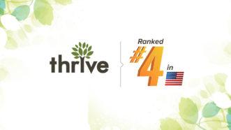Thrive Ranks No. 4 Among All U.S. SEO Agencies for SERPs Dominance