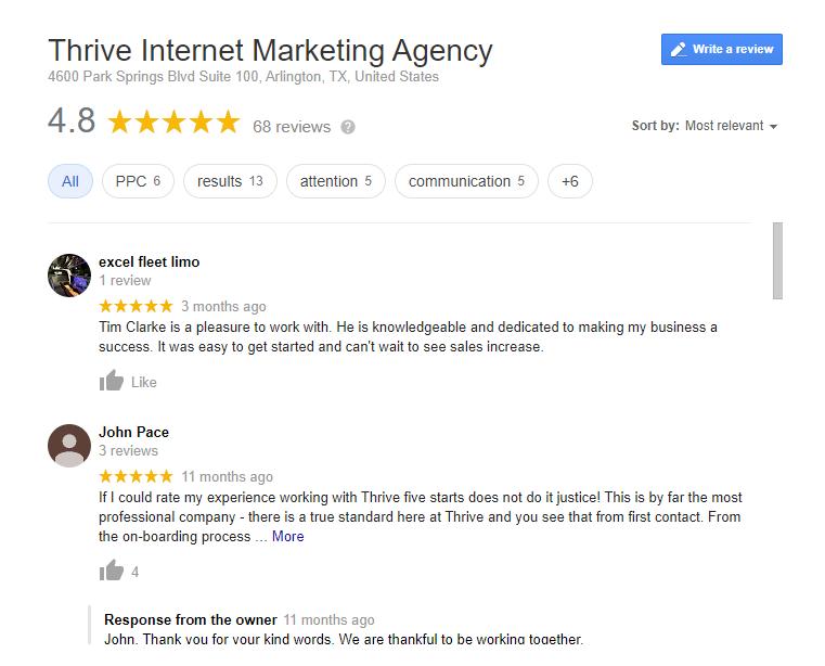 Thrive Reviews