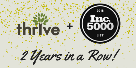 Thrive on Inc. 5000 List 2018