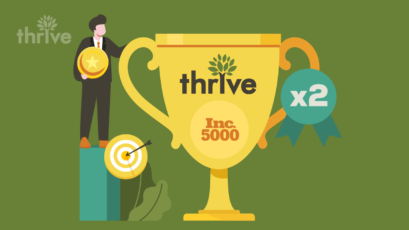 Thrive recognized for second year in a row as Inc. 5000 Fastest-Growing Company