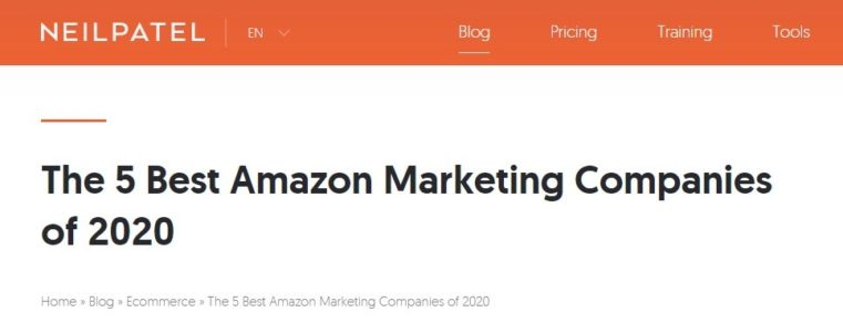 Top 5 Amazon Marketing Agencies
