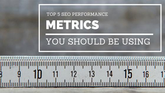SEO performance metrics