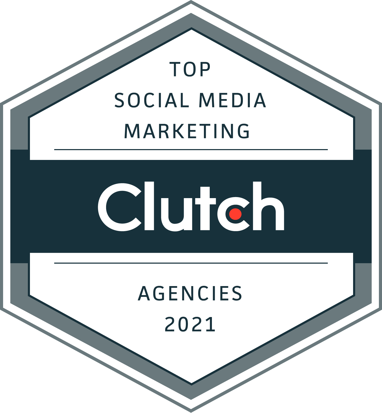 Top Social Media Marketing 2021 by Clutch