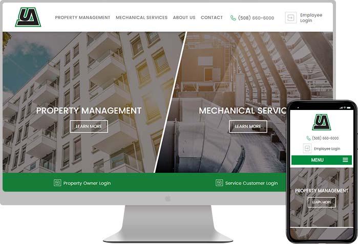 UA property management web design