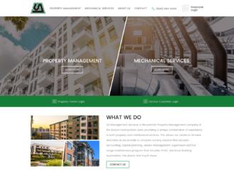 Universal Automation Responsive Website Design