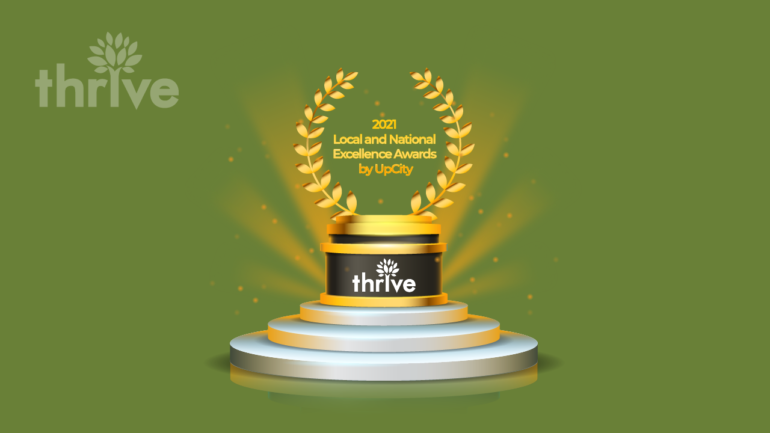 UpCity Honors Thrive Internet Marketing Agency With 2021 National and Local Excellence Awards