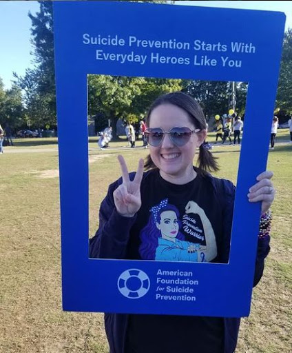 Volunteer for the American Foundation for Suicide Prevention