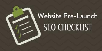 Website Pre-Launch SEO Checklist