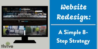 Your 8 Step Website Redesign Checklist