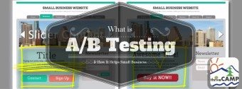 what is a/b testing? split testing for small business