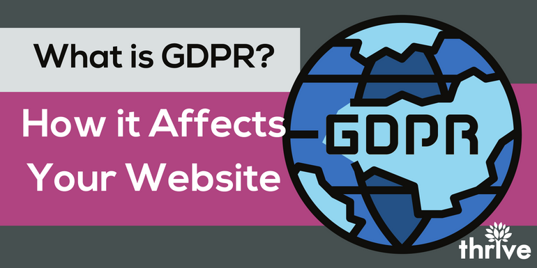 What is GDPR? How it Affects Your Website