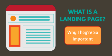 What is a landing page, and why is it important?