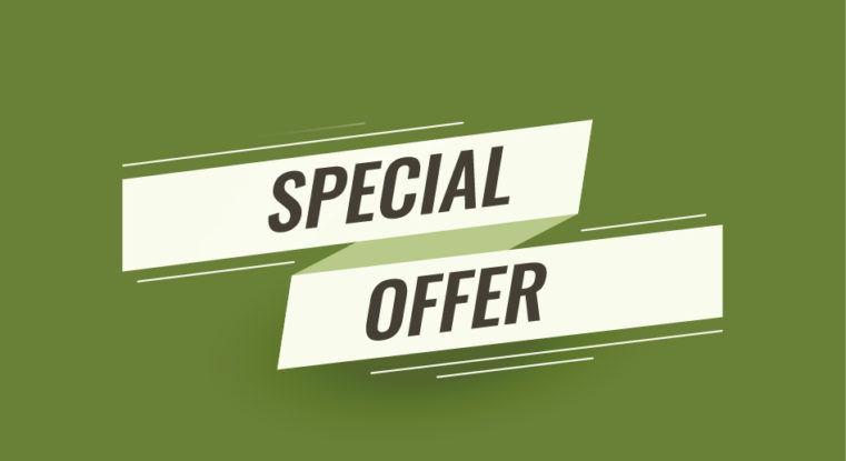 Provide Opportunities for a Special Offer