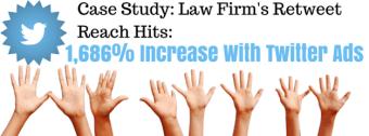 Law Firm Twitter Retweet Reach Case Study