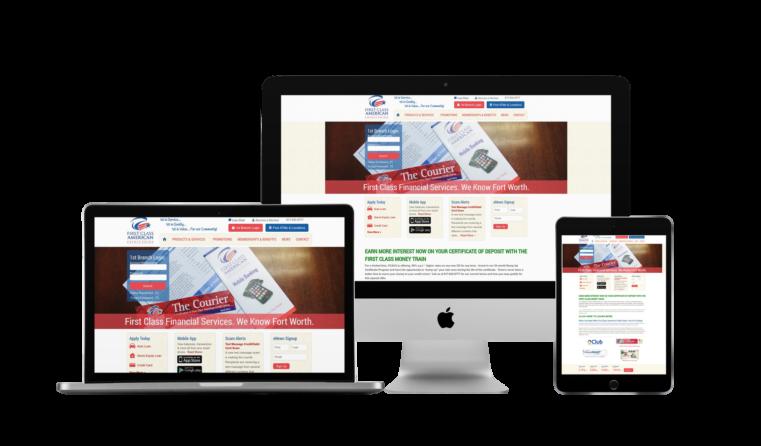 Community Bank Web Design