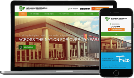 Web Design For Construction Companies