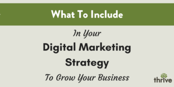 What to include in your digital marketing strategy