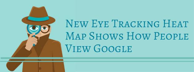 Google Eye Tracking Heat Map