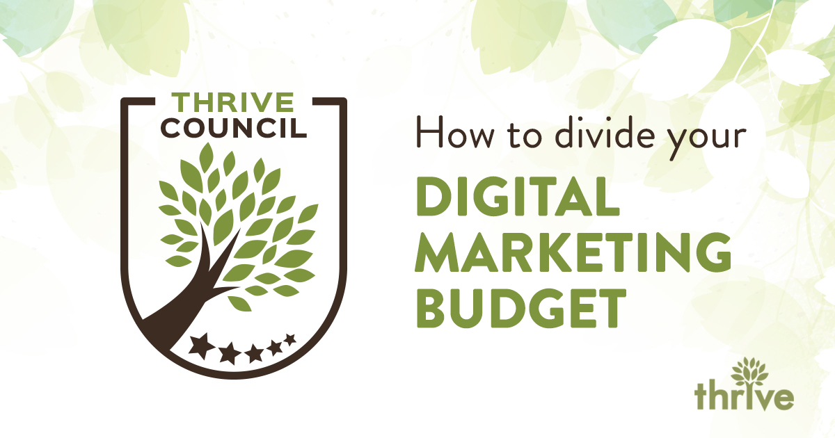 How To Divide Your 2019 Digital Marketing Budget