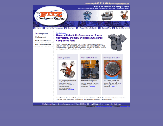 Fitz Equipment Co. Inc - Old Website