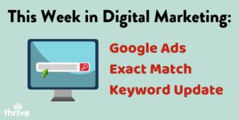 Googles Ads Exact Match Update