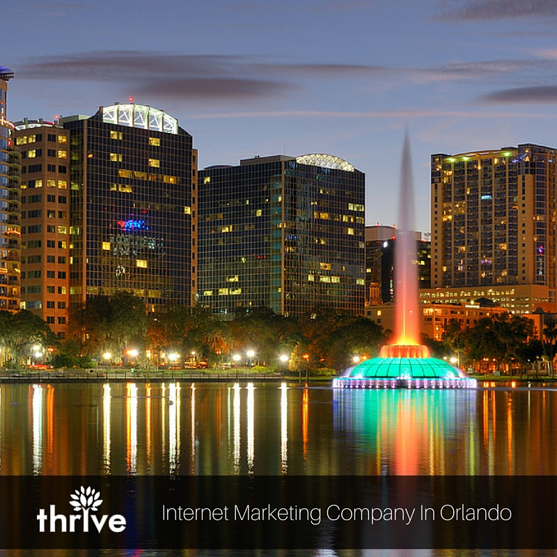 Thrive, A Professional Internet Marketing Company Serving Orlando, Florida