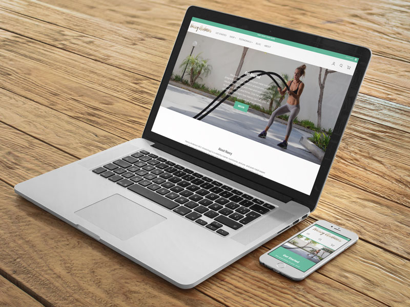 Nancy Anderson Fit website preview