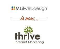 MLB Web Design is now Thrive Internet Marketing