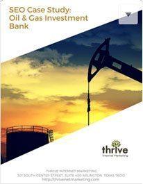 Energy Investment Bank SEO Case Study