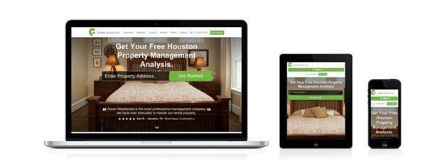 Responsive Web Design For Property Management Companies