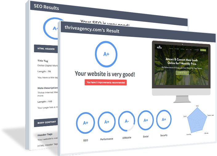 Receive A Free SEO Audit Report